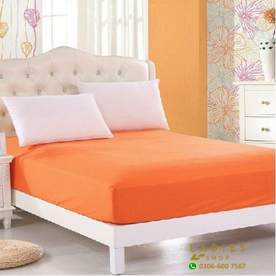 Jersey fited bed orange