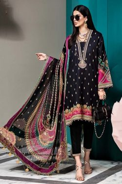 anaya embroided lawn collection 2020
