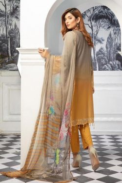 blossom luxury 3d chicken embroidered winter collection linen 2020