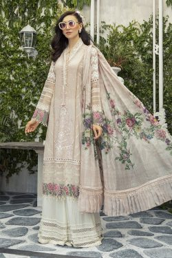 mariab dhanak embroidered collection 2020