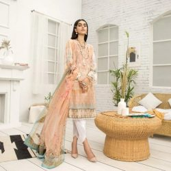 farasha embroidered twill linen winter collections 2020