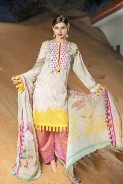 charizma Embroidered linen Collection 2020