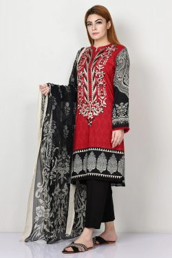 limelight embroidered dhanak collection 2020