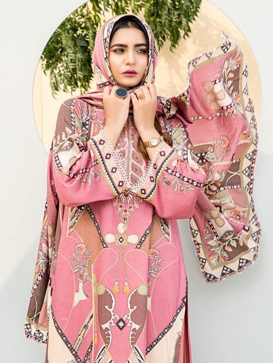 gulkari embroidered dhanak collection 2020