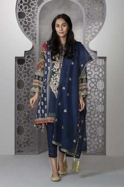 sapphire embroidered marina winter collection 2020