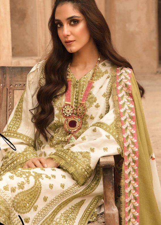 Crimson embroidered lawn collection 2021