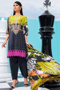 Edan-Roab embroidered lawn collection 2021