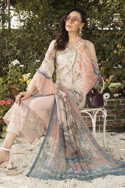 mariab embroidered lawn collection 2021