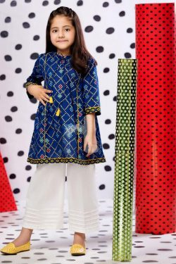 nishat 2 Piece Embroidered with Mirror Work Lawn Suit
