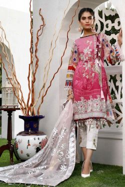 Sifona 3Pcs Embroidered Lawn Collection 2021