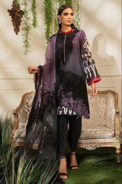 Mushq best embroidered lawn suit 2021