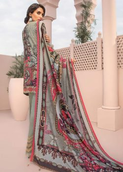 baroque iris embroidered lawn collection 2021