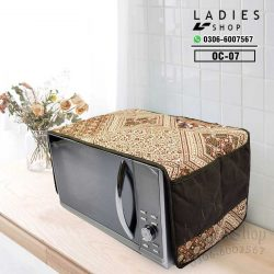 Microwave oven cover dustproof cover cloth household electric oven cover cloth, cotton and linen multi-purpose cover